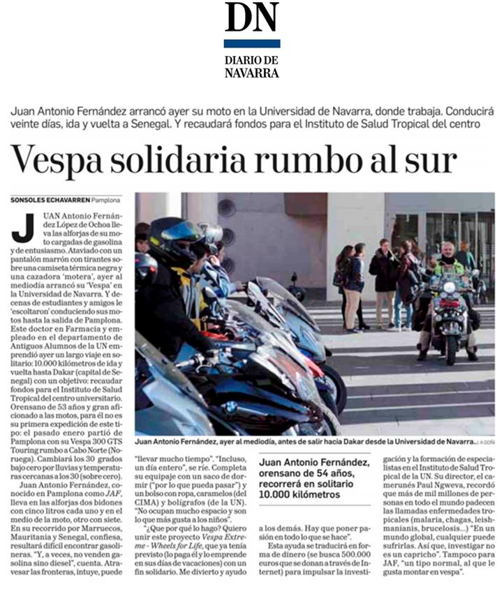 Diario de Navarra - 21 de noviembre de 2017