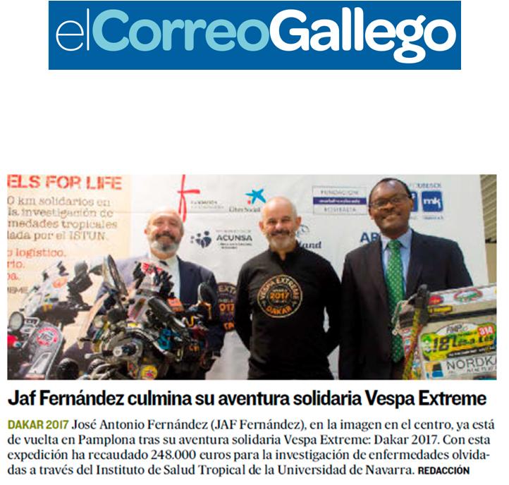 El Correo Gallego - 16 de diciembre de 2017