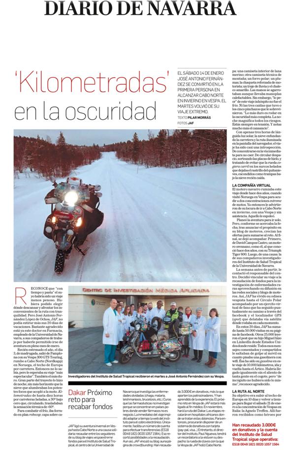 29.01.2017 Diario de Navarra
