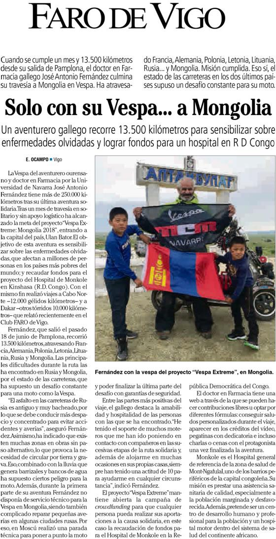 18.07.2018 Faro de Vigo
