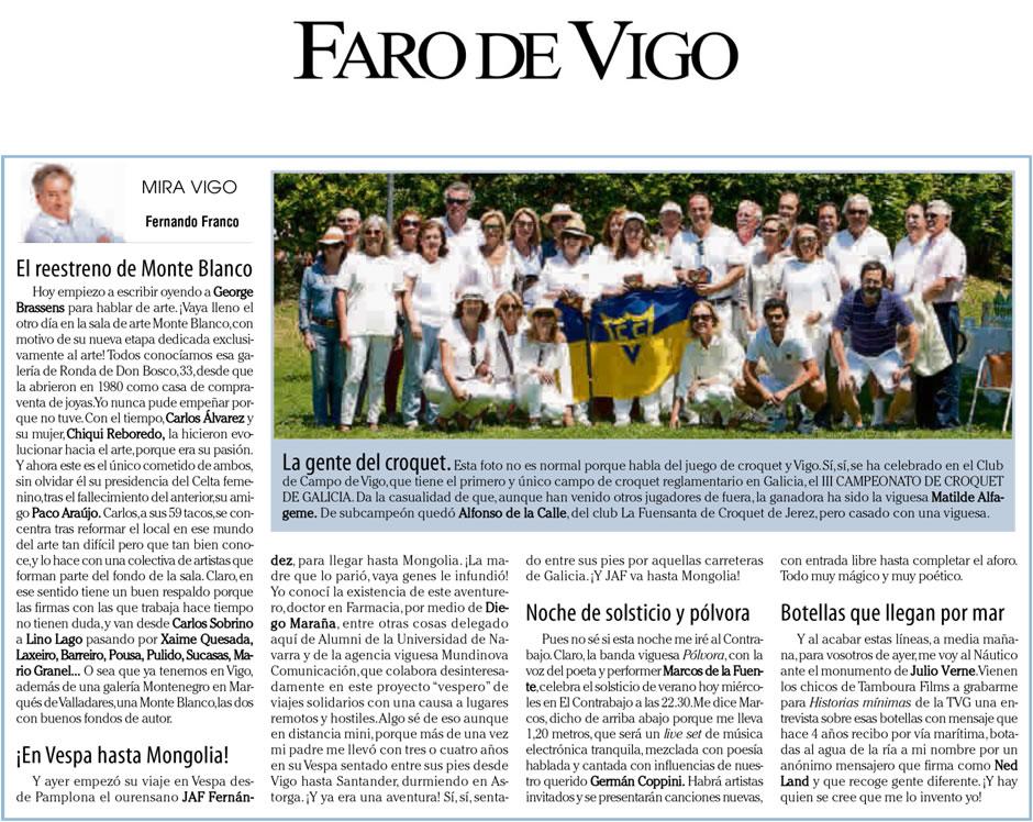 20.06.2018 Faro de Vigo