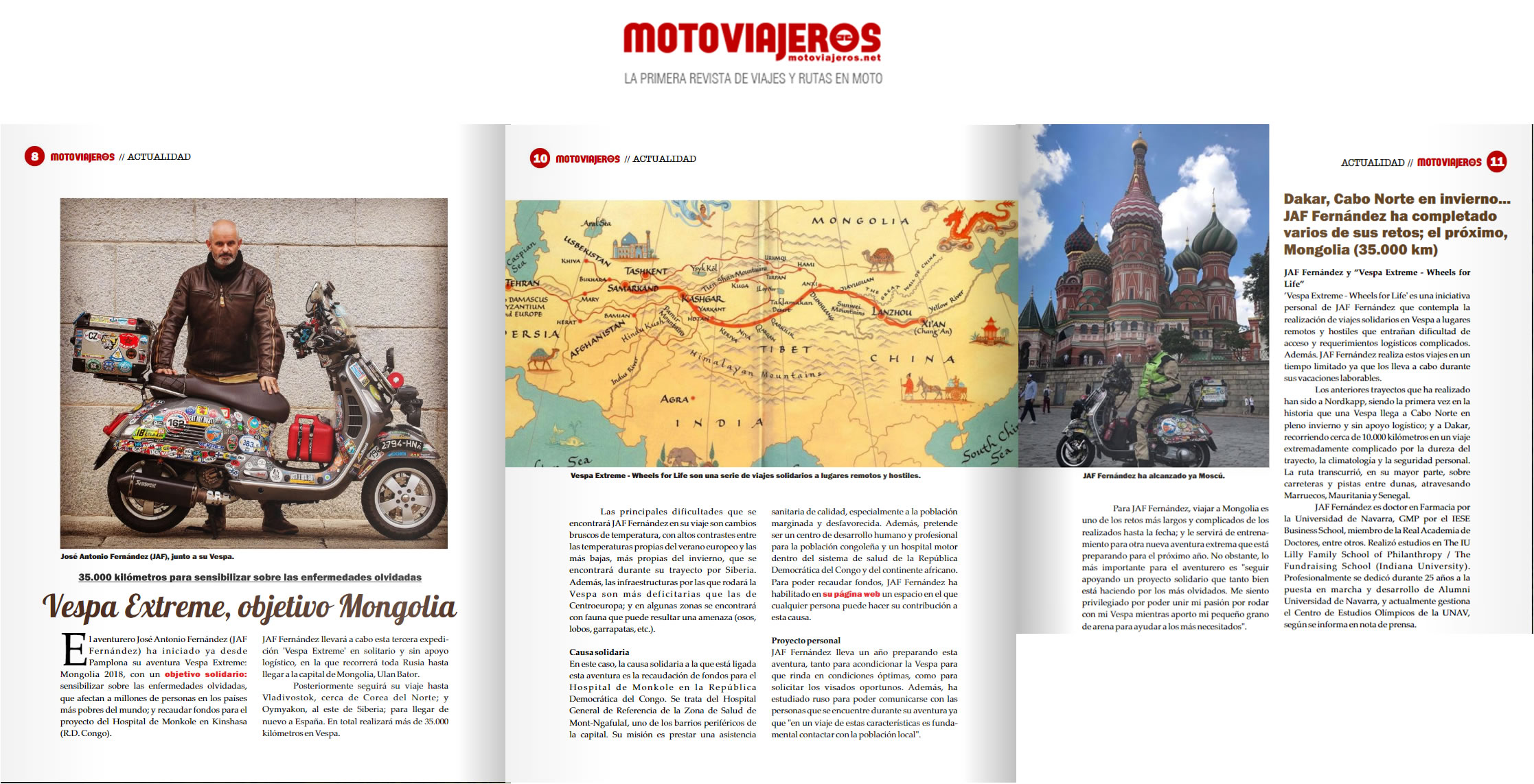 Julio 2018 - Motoviajeros