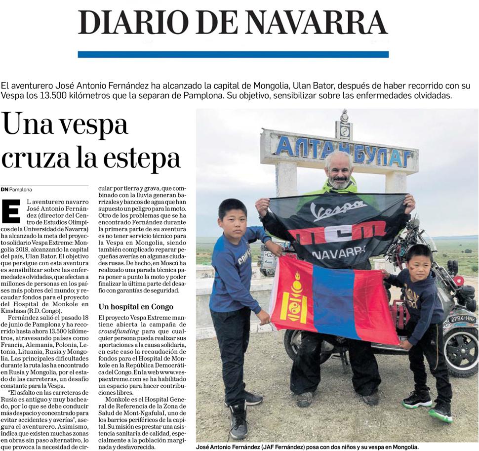 22.07.2018 Diario de Navarra